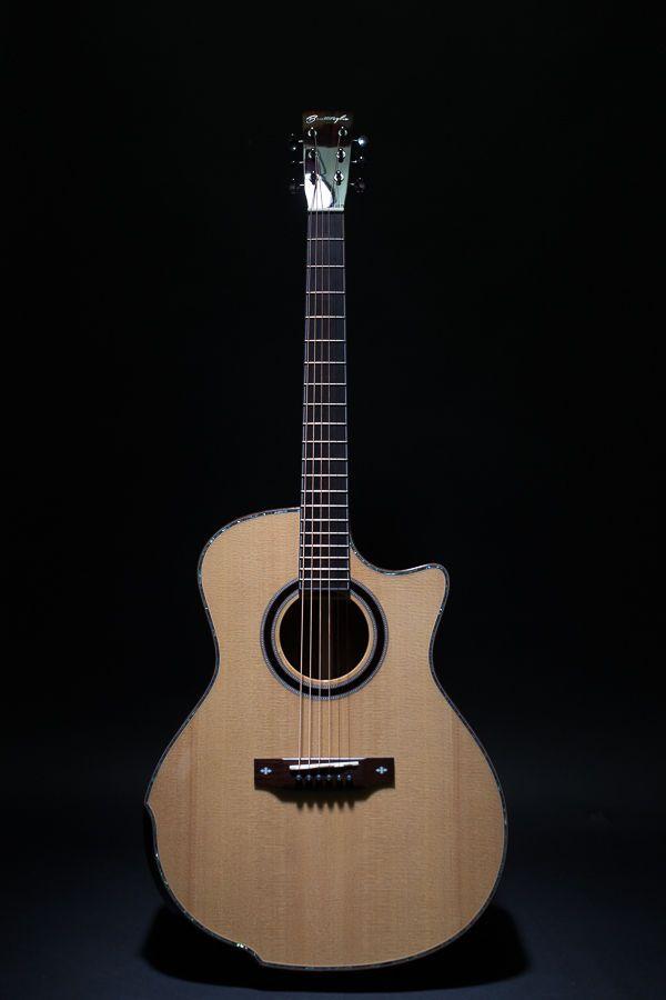 Bentivoglio BV102C Acoustic Guitar Lip Bevel Cut Away Grand Auditorium GA #Bentivoglio