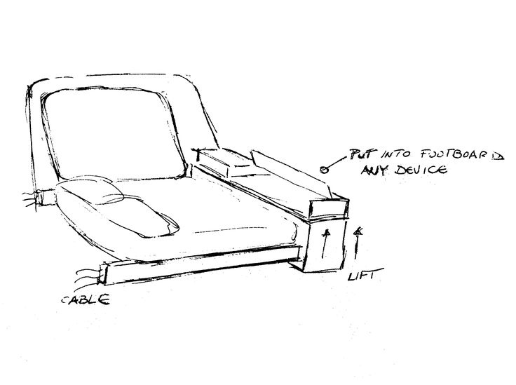 HiCan Design sketches. #Design #smartBed #Future #bed #SmartBed