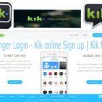 Kik Messenger Login - Kik online Sign up   Kik Mobile App
