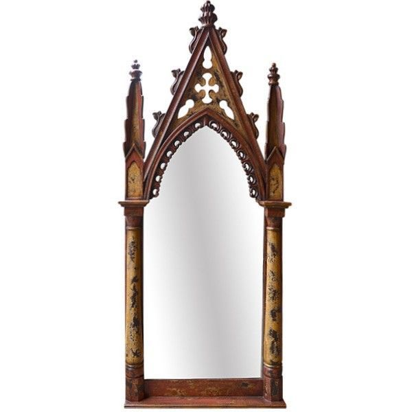 Gothic floor mirror tall 94 7 8 39 feet rustic handmade for 7 foot mirror