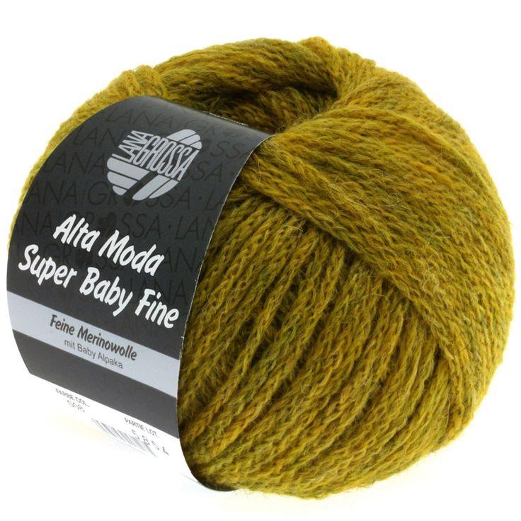 ALTA MODA SUPER BABY FINE uni 08-mustard mix