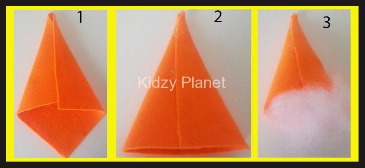 How to Make a Witches/Halloween Hat Out of Fabric