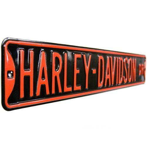 47 best harley davidson signs images on pinterest | tin signs