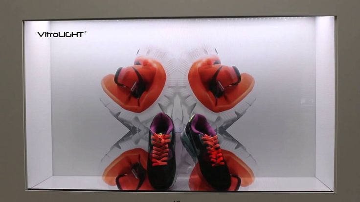 42inch transparent LCD monitor for Nike