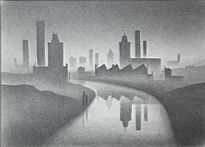 Trevor Grimshaw - Canal and Factories