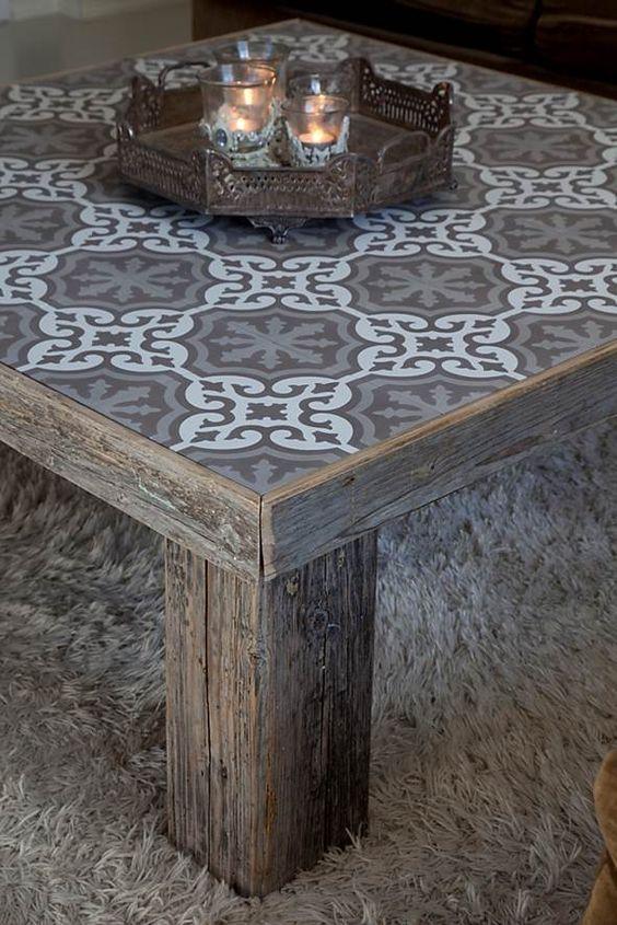 Badrumstankar och drömmar... En marockansk kakelplatta är som ett helt konstverk, så vackra! Det kan räcka med en liten bård för a...
