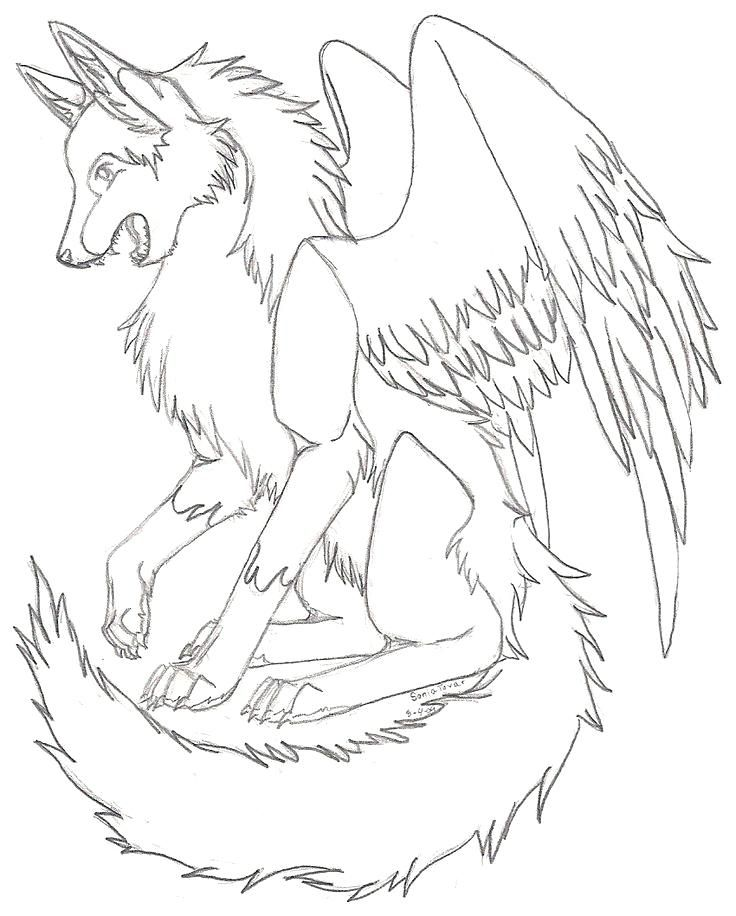Wolf Color Pages Anime Wolf Coloring Pages Cute Baby Wolves Coloring