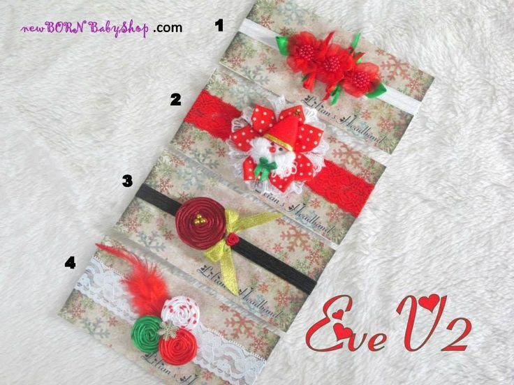 Headband for Christmas eve use for baby, children, and adult