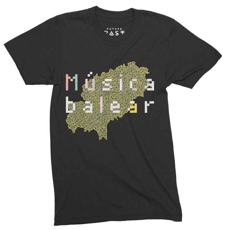 Future Past Clothing Balearic Beats Ibiza 1987 T-Shirt / Black out now for £24.97.https://goo.gl/mScDox  #futurepastclothing #tb303 #studio54 #ibiza #mixmag #house #menswear #shoom #raver #housenation #tshirt #techno #amnesia #rave #mensfashion