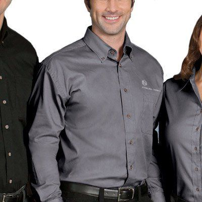 ... short sleeve custom button down; short sleeve embroidered ...
