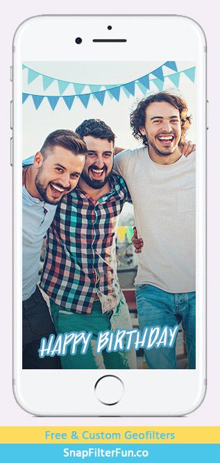 Happy Birthday with flags – Blue http://www.snapfilterfun.co/birthday/hbflagsblue-geofilter.php