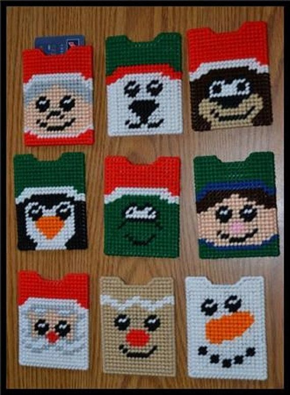 Christmas Gift Card Holders by cecrafts on Etsy, $2.50