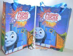 Sacolinha Personalizada Trem Thomas