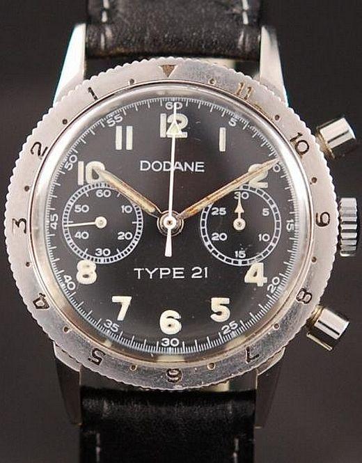 L'histoire des montres chronographes Type 20 et Type 21 (Breguet, Vixa, Auricoste, Airain, Dodane...)