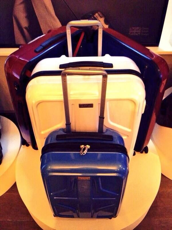 More highlights from @Antler Luggage the sterling suitcase, perfect for strolling through terminal 5