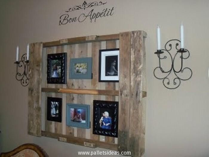 Wood Pallet Wall Decor 120 best pallet shelves images on pinterest | pallet shelves