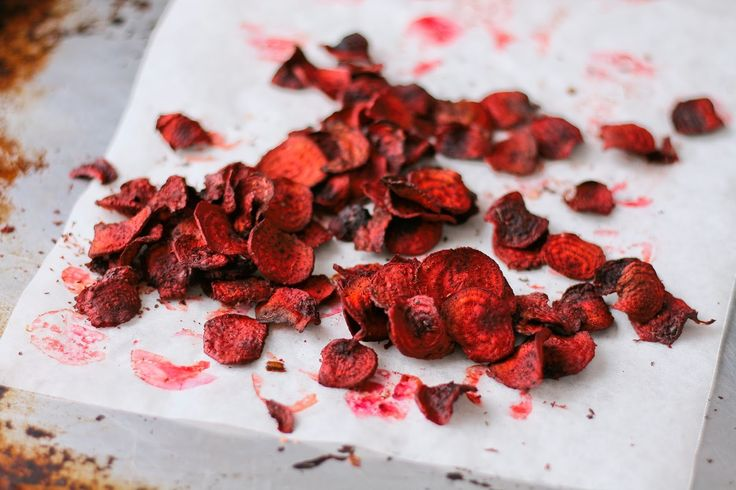How to make your own beetroot crisps