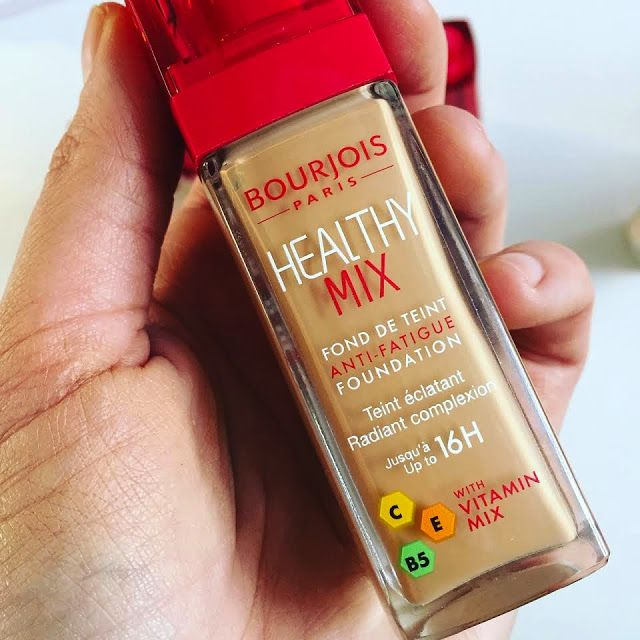 New Updated Bourjois Healthy Mix Foundation | Pixiwoo.com