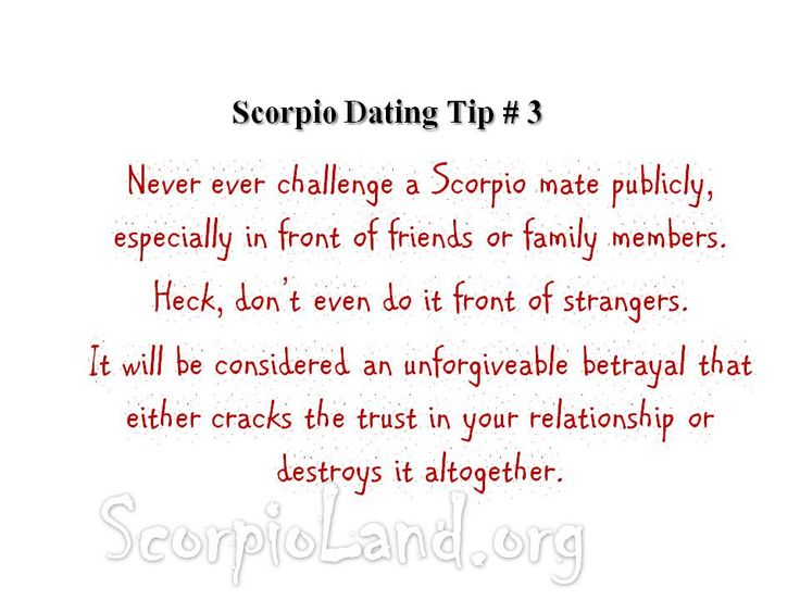 Scorpio dating site