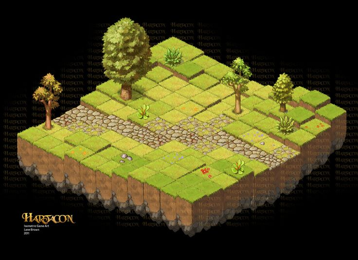 Isometric Game Art - Game: Hartacon