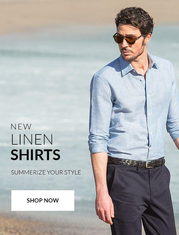 New Linen Shirts https://www.hockerty.com/en-us/men/shirts/linen-shirts-collection/ Summerize your style
