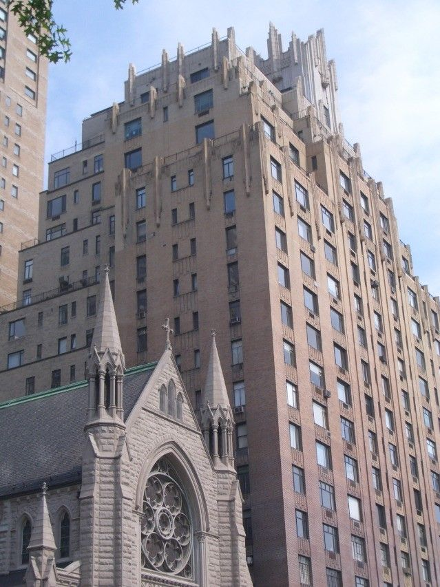 Ghostbusters Building (55 Central Park West , NY)