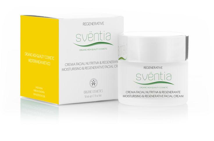 Sventia Regenerating nourishing cream 50ml/hydratačno-regeneračný komplex, prírodná a organická kozmetika - certifikát BDIH
