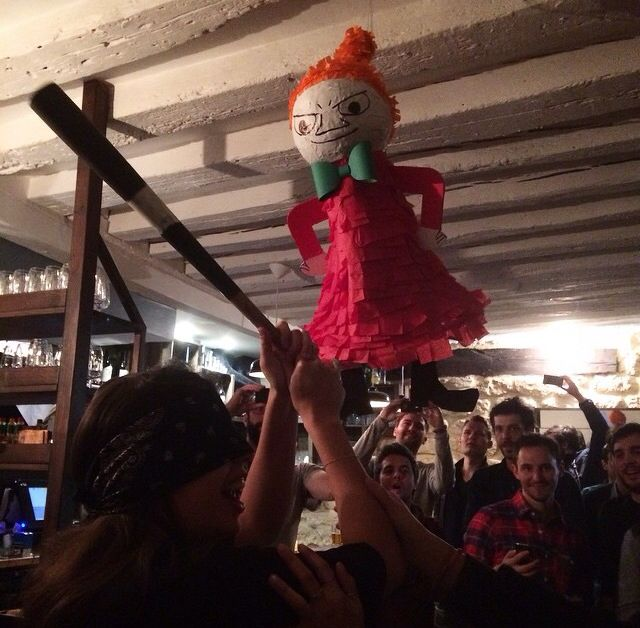Moomin piñata