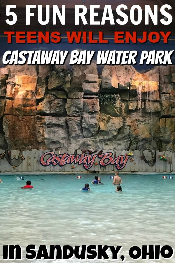 Headed to Castaway Bay with a teen? Here's five fun reasons why they'll enjoy visiting!