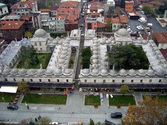 Mimar Sinan - Rüştem Paşa  Medresesi. Istanbul