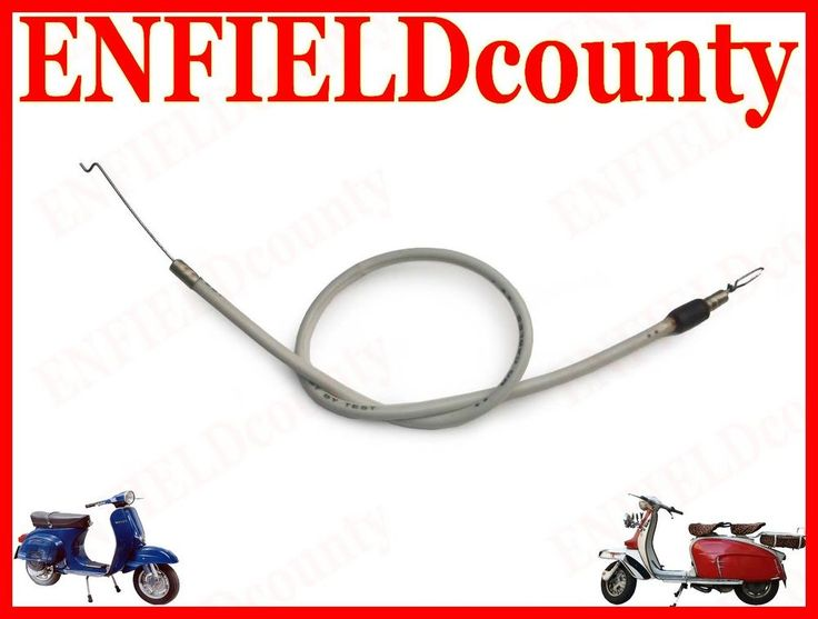 BRAND NEW VESPA SCOOTER CHOKE CABLE VBB VBC VLB & OLD VESPA MODELS