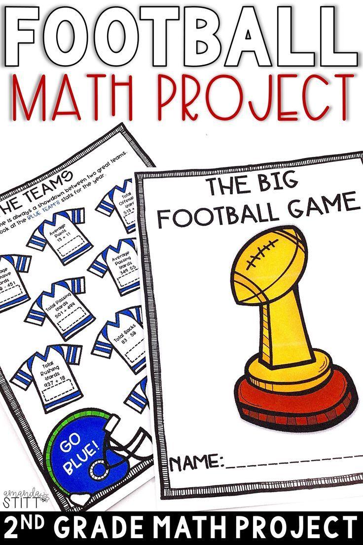 Digital Super Bowl Math Football Math Activity 2nd Grade Math Projects Fall Math Activities Football Math Activities [ 1104 x 736 Pixel ]