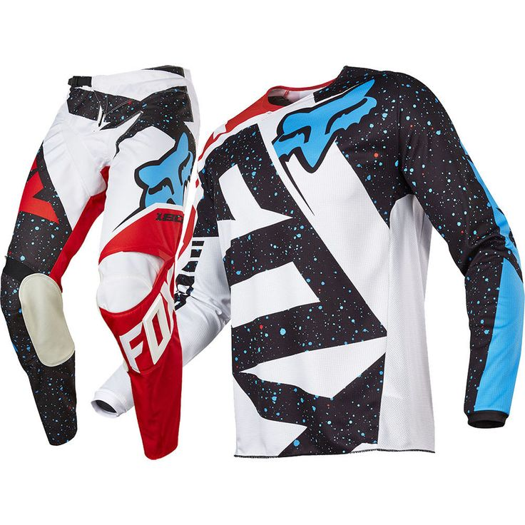 Fox 2017 Kids Mx NEW 180 Nirv Red White Jersey Pants Youth Motocross Gear Set