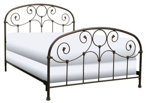 Best Elegant Metal Bed Frame With Headboard And Footboard In 400 x 300