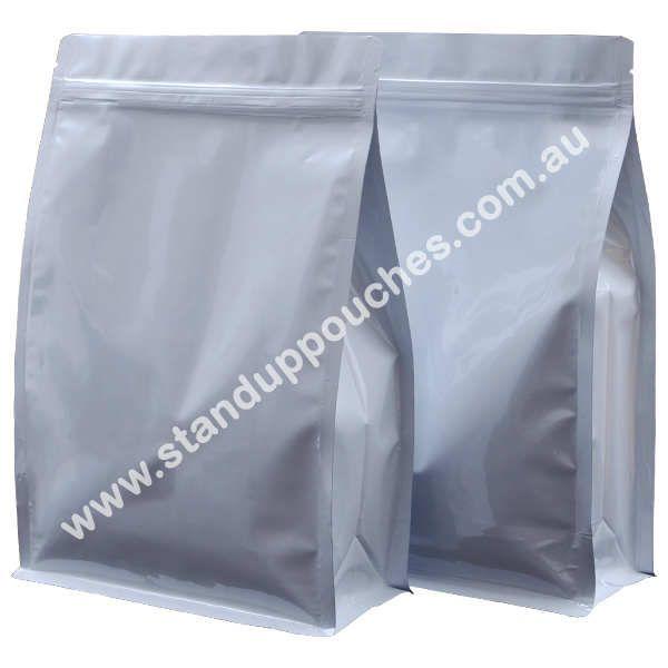 Flat Bottom Pouch | Block Bottom Bags | Flat Bottom Paper Bags