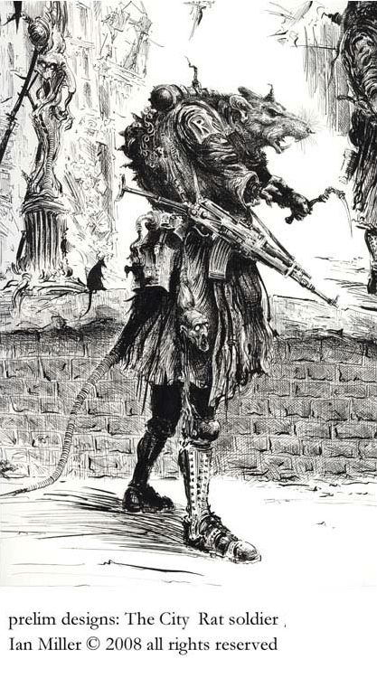 Ian Miller 'The Rat Soldier'