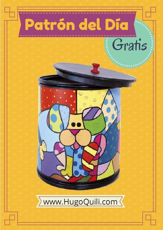 Descarga este envase decorativo totalmente gratis en nuestra pagina web, totalmente gratis.