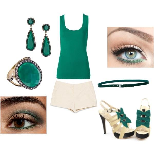 """""""Simple green"""" by Nina Nanni"""