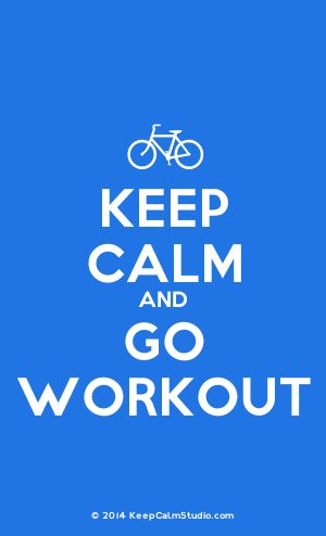 [Bicycle] Keep Calm And Go Workout