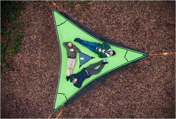 TENDA DE CAMPISMO TENTSILE TRILLIUM HAMMOCK  Novo produto da TENTSILE é a rede Trillium hammock, outro produto fantástico desenvolvido por estes especialistas em tendas de campismo.