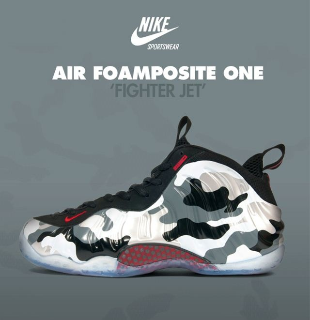 walenikeairfoampositeonefighterjetcamoSneaker Bar ...