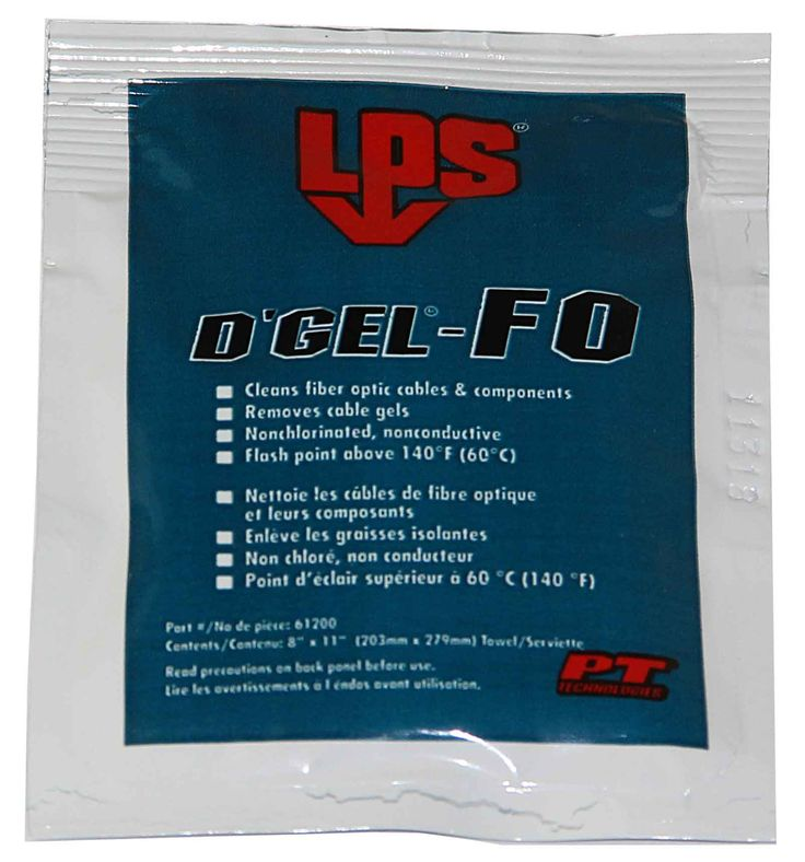 D'Gel Saturated Lint Free Wipes - 12 Pack Box