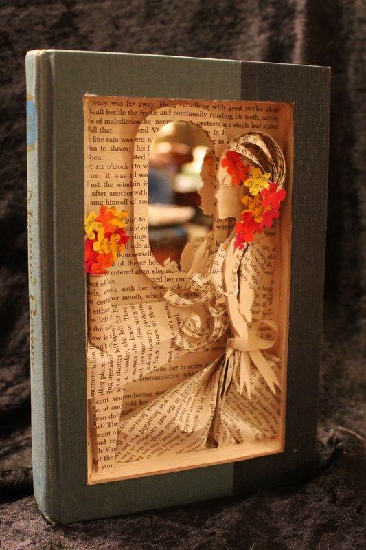 Kitap okumayı çok seven sanatçı Jodi Harvey Brown, kitapların ufkunda açtığı farklı ve yeni dünyayı, yaptığı kitap heykellerle anlatıp öykülere ve masallara adeta hayat veriyor.