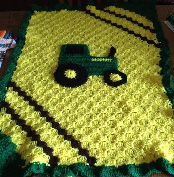 Crochet Pattern For John Deere Afghan : 1000+ images about Crochet ideas from fb on Pinterest ...