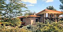 Wfm rosenbaum house interior - Usônia – Wikipédia, a enciclopédia livre