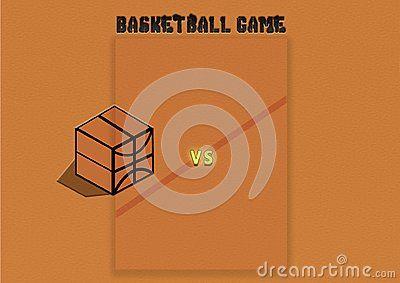 Basketball game illustration, Wallpaper & Background, vs teams