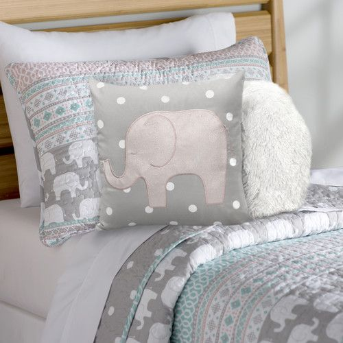 Features:  -Material: 100% Polyester.  -Machine wash cold in a laundry mesh bag with similar colors and gentle cycle.  Product Type: -Quilt/Coverlet set.  Style (Old): -Contemporary.  Color: -Turquois