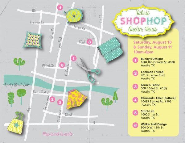 Fabric Shopping in Austin