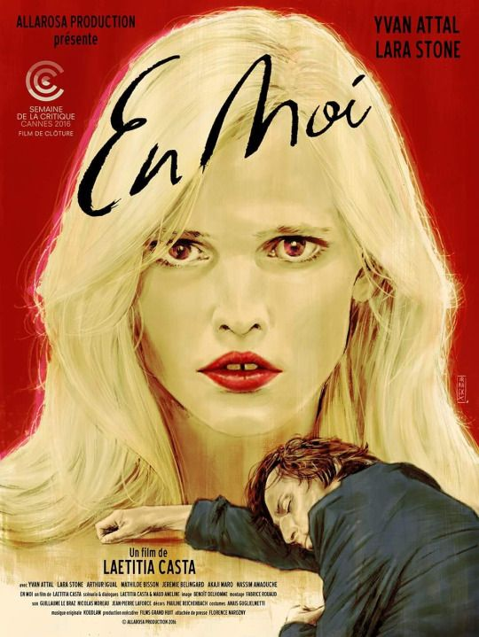 En Moi by Laetitia Casta. #Cannes2016 Semaine de la Critique Short Films.  Poster.