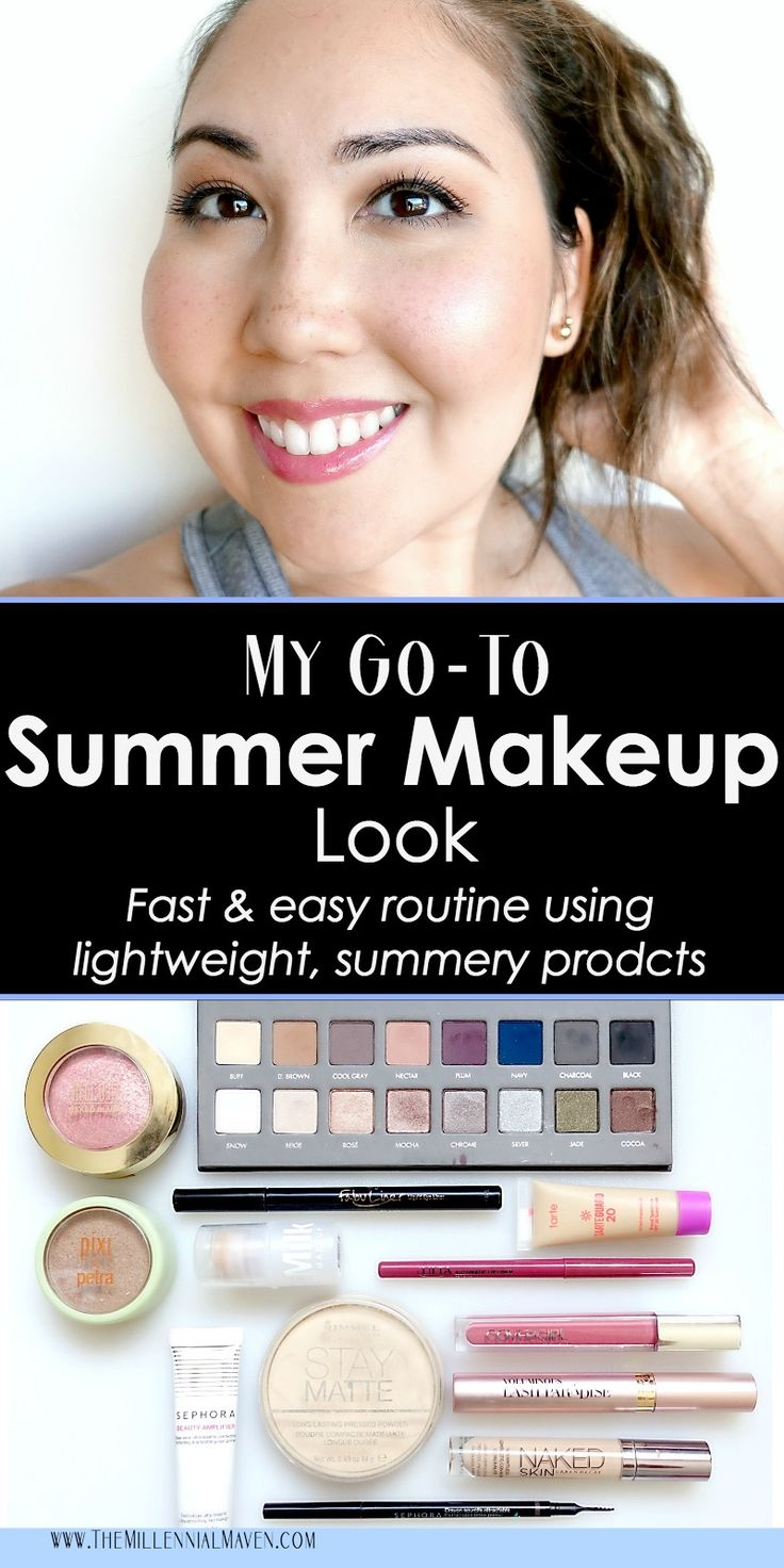 My Go-To Summer Makeup Look (Easy routine using lightweight products!)